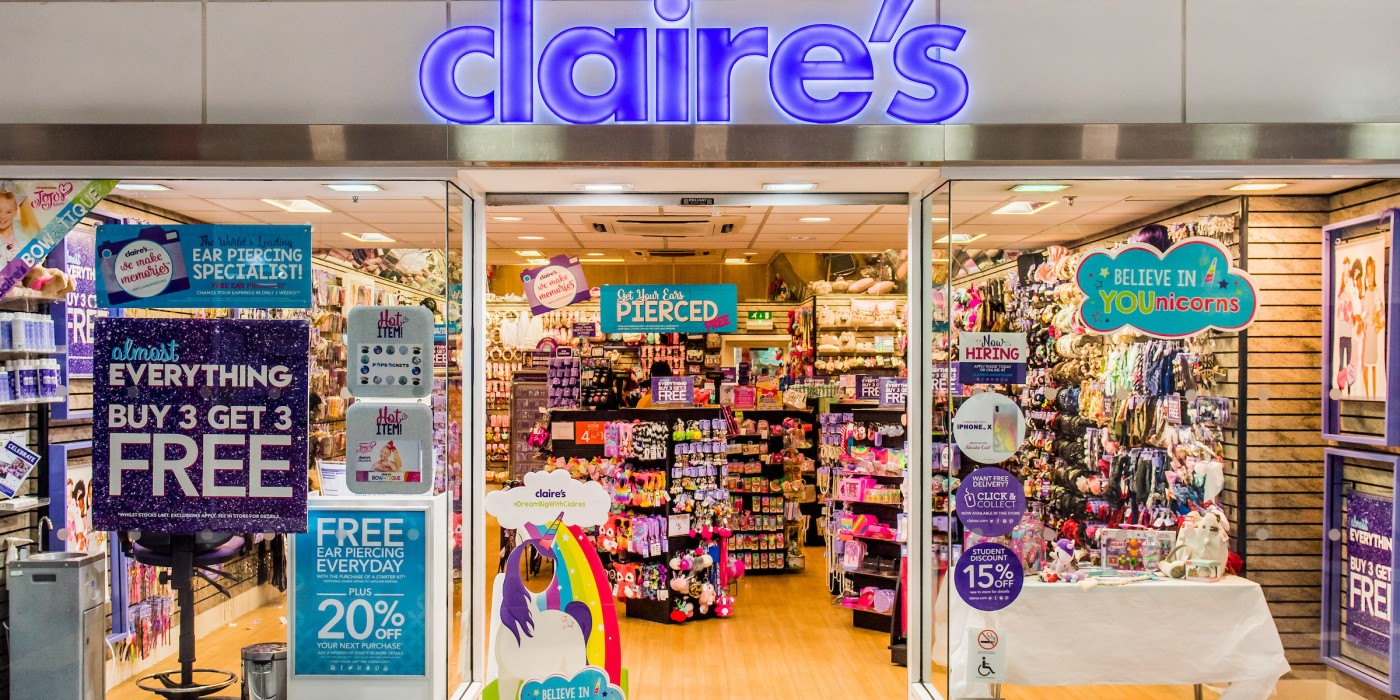Claire's Accessories at St Johns Shopping Centre