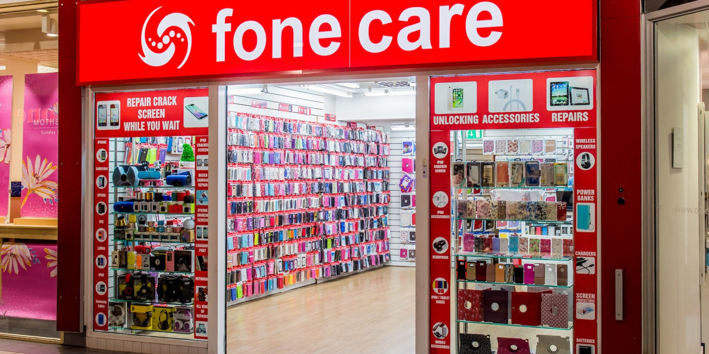 Fone Care at St Johns Shopping Centre