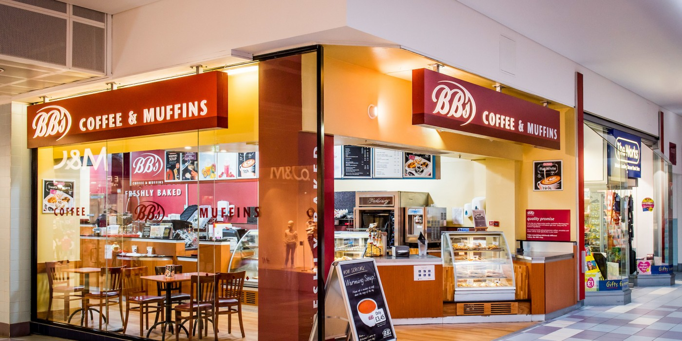 BB's Coffee & Muffins at St Johns Shopping Centre
