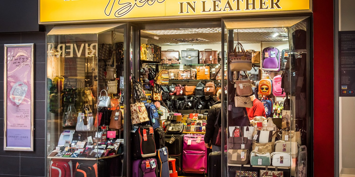 The Best in Leather at St Johns Shopping Centre