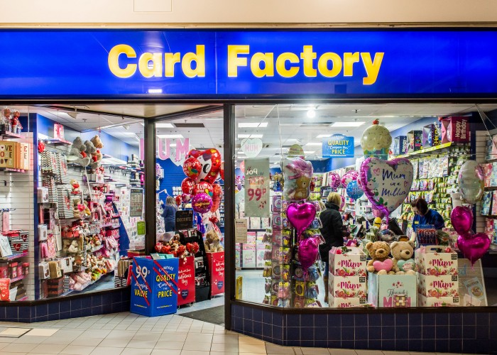 <p>Card Factory is the UK&rsquo;s leading specialist retailer of greetings cards, gift dressings and associated gift and party products. We sell a wide selection of cards, as well as gifts, gift bags, gift wrap, bows, ribbons, balloons and more. When it comes to special occasions, whatever you need, we&rsquo;ve got it wrapped up.</p> <p>Their philosophy is simple. We aim to produce a wide range of outstanding quality cards and products at exceptional value which is why they design, print and produce the vast majority of our cards at their facilities here in the UK.</p> <p>But it&rsquo;s not all business. We believe in giving something back, which is why we work closely with Macmillan Cancer Support. Through the incredible efforts of Card Factory staff and customers, we have now raised over &pound;2.8 million. A fantastic result for a fantastic cause!</p>