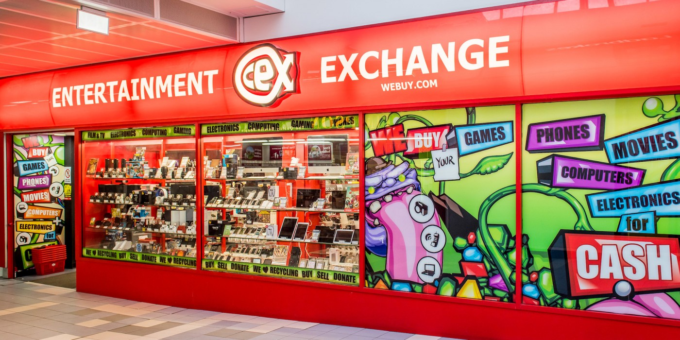 CeX at St Johns Shopping Centre