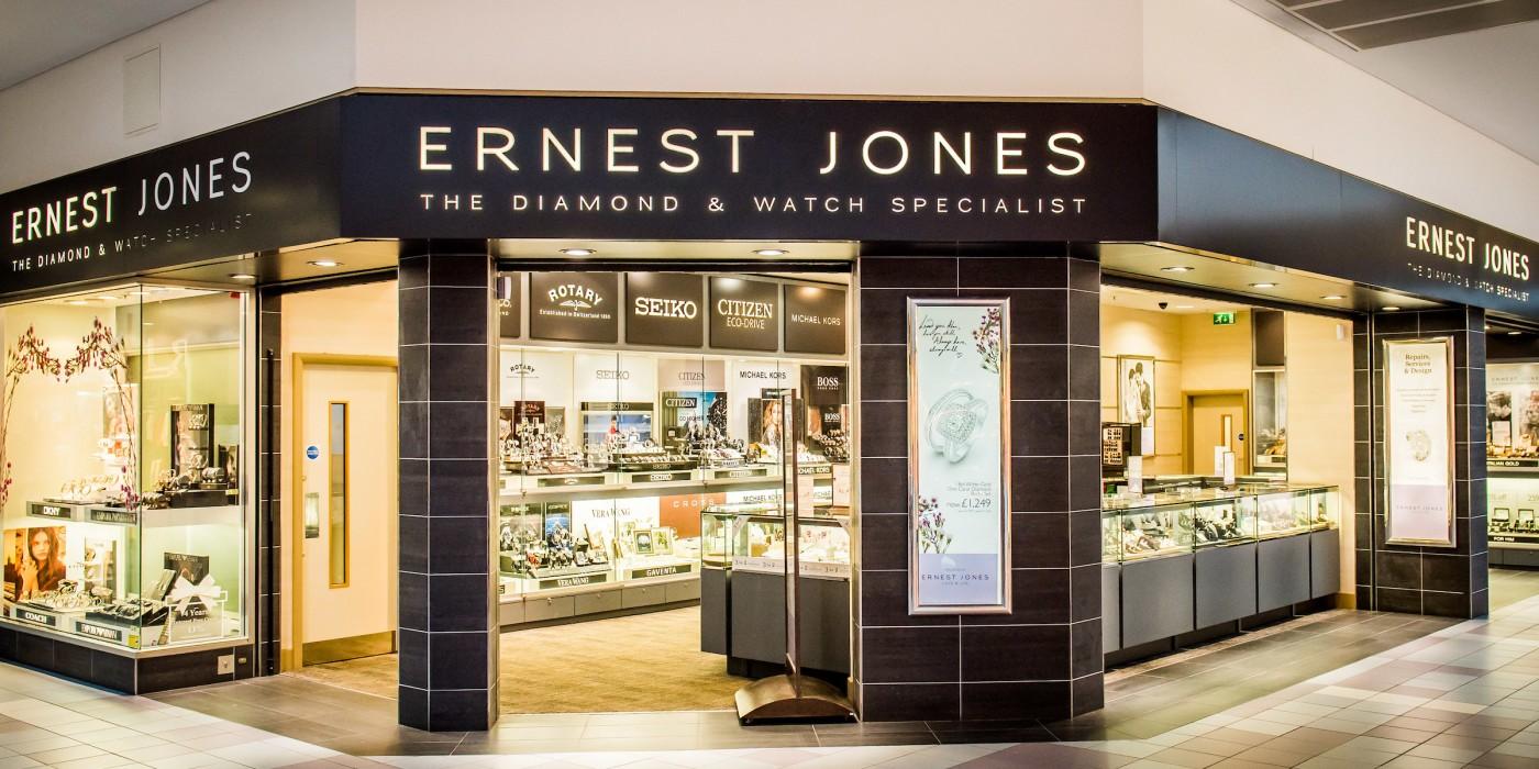 <p>From modest beginnings in 1949, Ernest Jones has grown from a single store in London's Oxford Street to the a highly reputable national chain of over 190 jewellery stores – bringing to suburban and provincial locations the quality, range, presentation and high standard of customer service once only available in London's West End.</p>