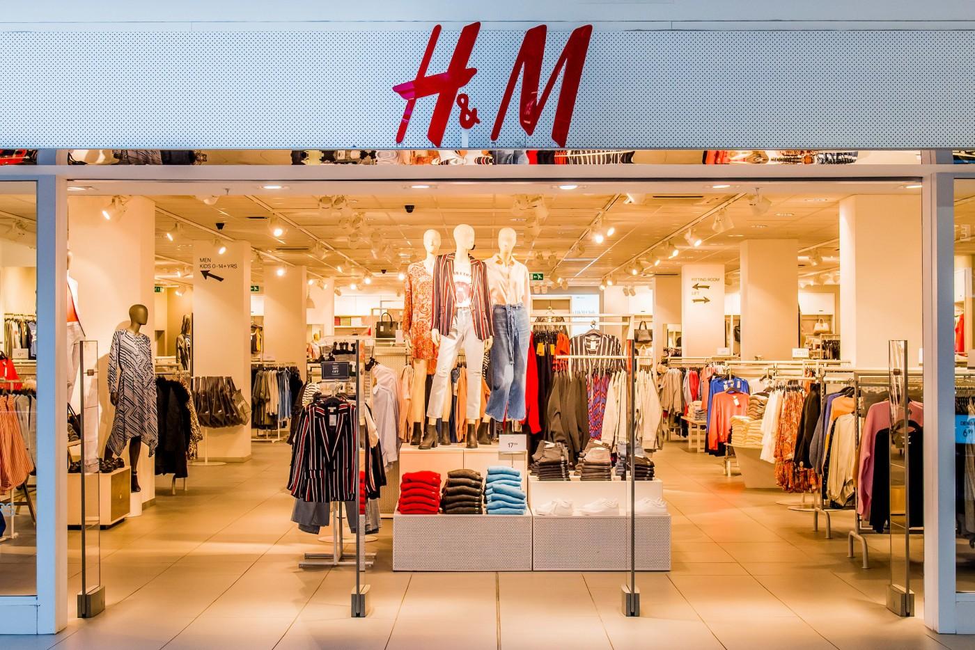 Einkaufsrahmen H&M