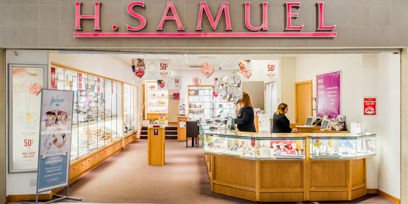 H. Samuel at St Johns Shopping Centre