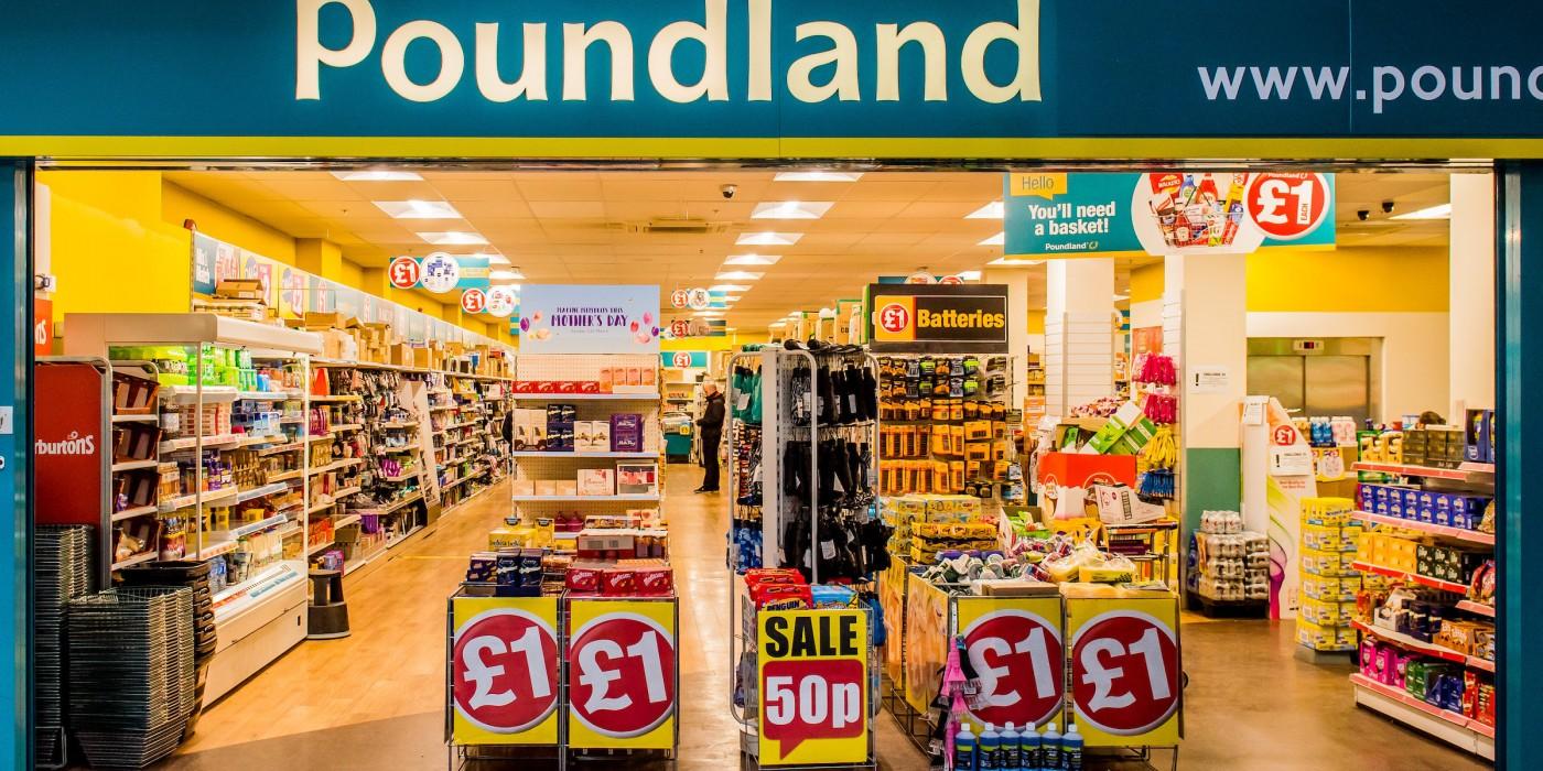 Poundland at St Johns Shopping Centre