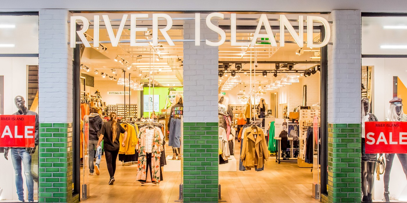 River Island at St Johns Shopping Centre