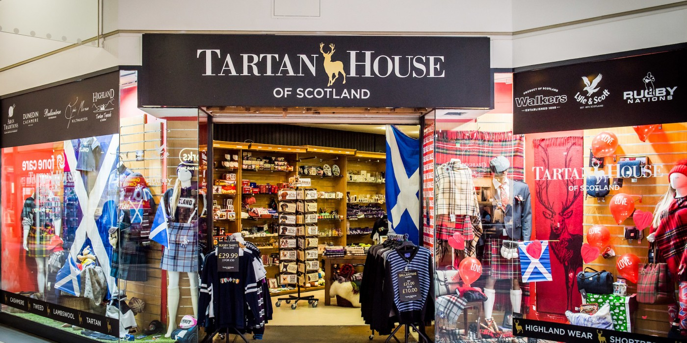 Tartan House of Scotland at St Johns Shopping Centre