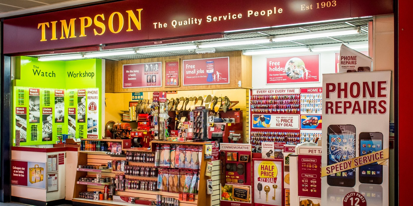 Timpson at St Johns Shopping Centre