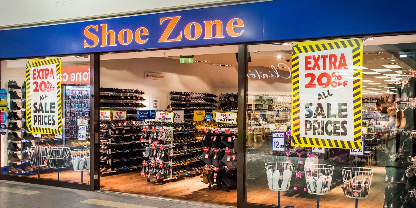 Shoe Zone at St Johns Shopping Centre