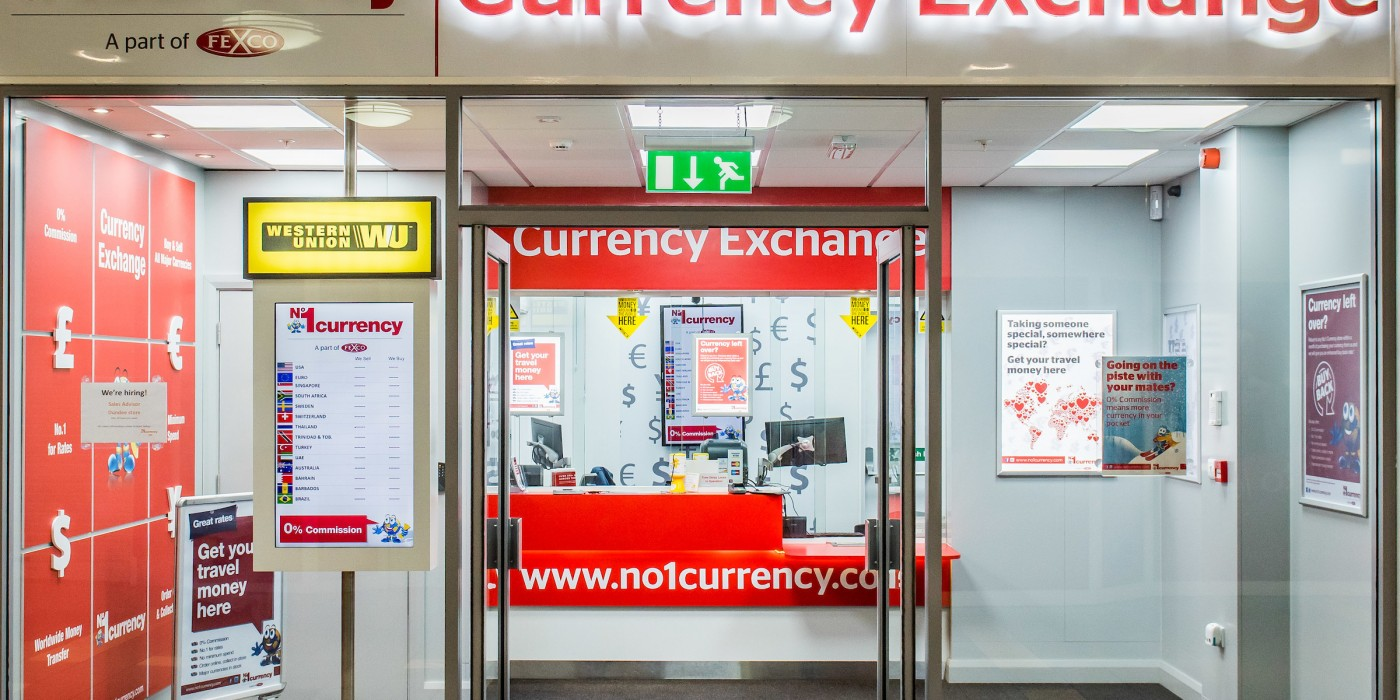 No1 Currency at St Johns Shopping Centre